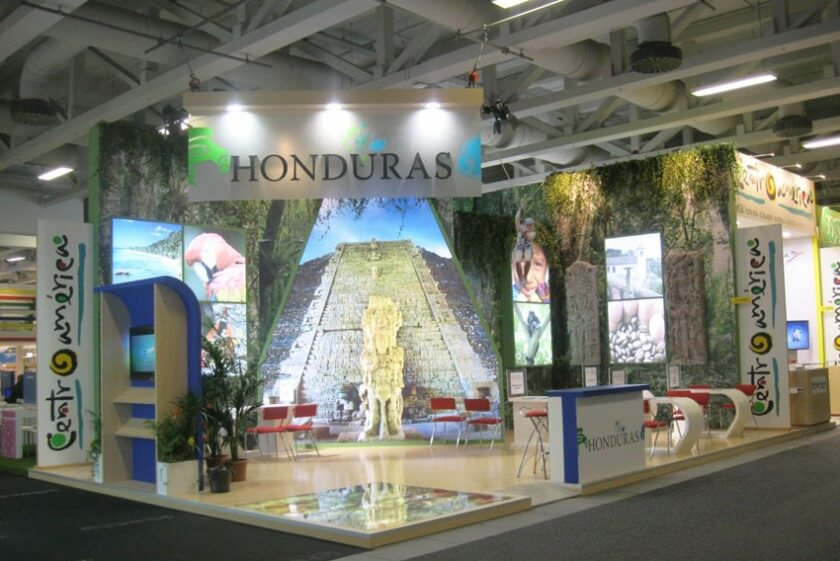 Expo Stands Mexico : México and honduras stands at itb berlin
