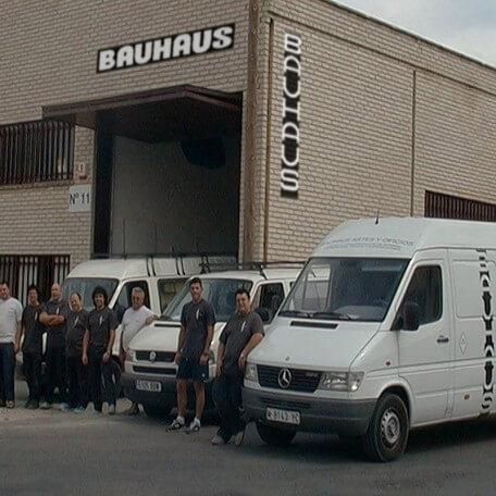 Construcción de stands - Servicios de Bauhaus Artes y Oficios