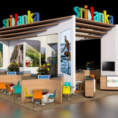 Proyecto Stand de Sri Lanka en IFTM París 2016